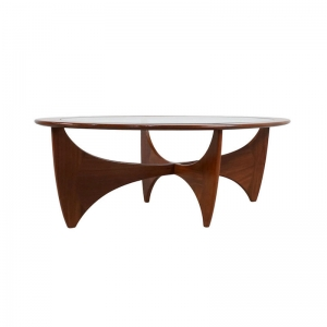 Oval G Plan Astro Coffee Table by Victor Wilkins