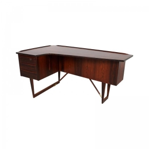 Danish Rosewood Desk by Peter Løvig Nielsen, 1967