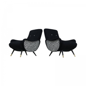 1950s lounge chairs, set of 2