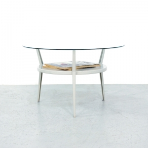 1950s Friso Kramer Rotonda Coffee table for Ahrend de Cirkel