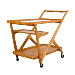 Cesare Lacca Tea Trolley Cart, 1950s