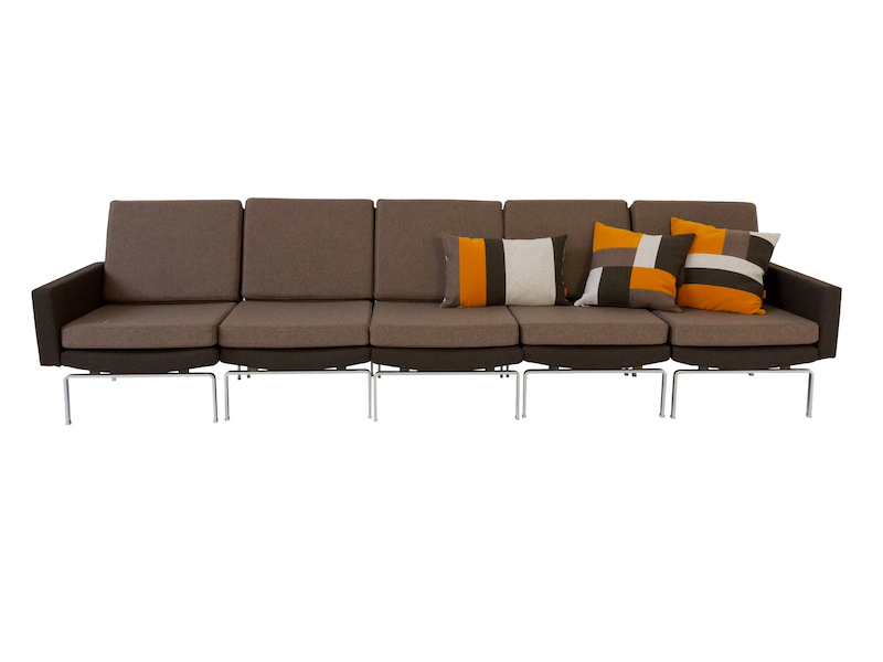1970s 5-Seater Sectional Element Sofa