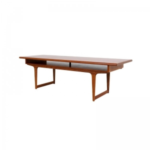 Large Danish Teak Coffee Table, 1960