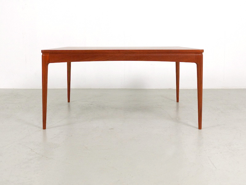 1960s Danish Square Teak Coffee Table