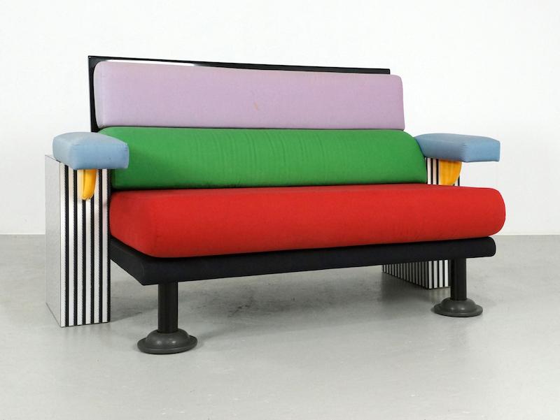 1980s Lido Sofa by Michele De Lucchi for Memphis