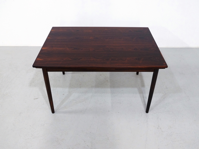 Extendable Danish Dining Table by Randers Møbelfabrik in Rosewood