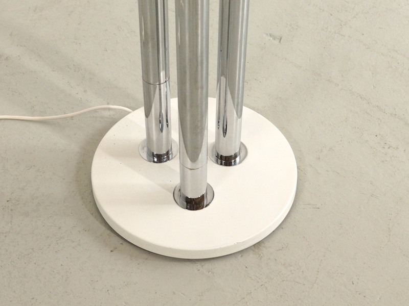 1970s Goffredo Reggiani Floor Lamp with Three Chrome Spots