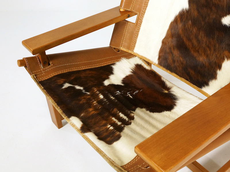 1970s Scanform Cowhide Lounge Chair