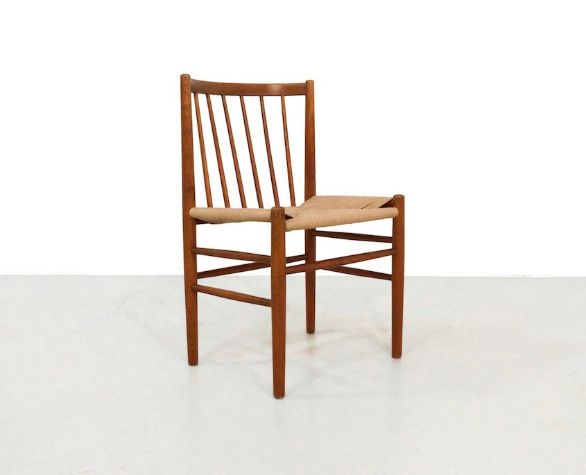 Vintage Jørgen Bækmark J80 Dining Chairs for FDB Møbler