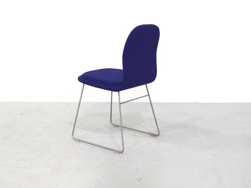 Cappellini Hi Pad Chairs by Jasper Morrison, set of 6