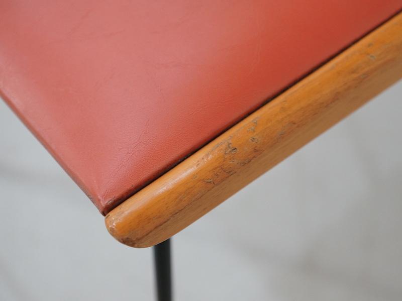 1950s Italian boomerang chairs by Carlo Ratti