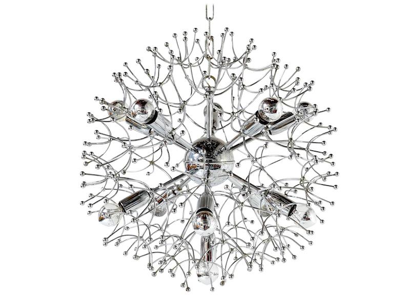 Italian Sputnik Chandelier by Gaetano Sciolari