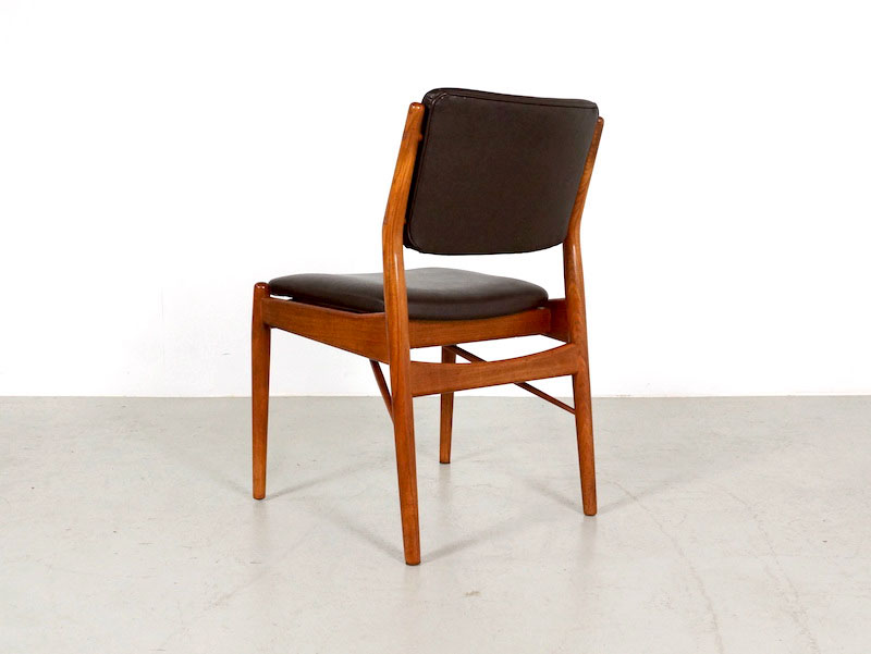Dining Chairs By Arne Vodder For Sibast Furniture