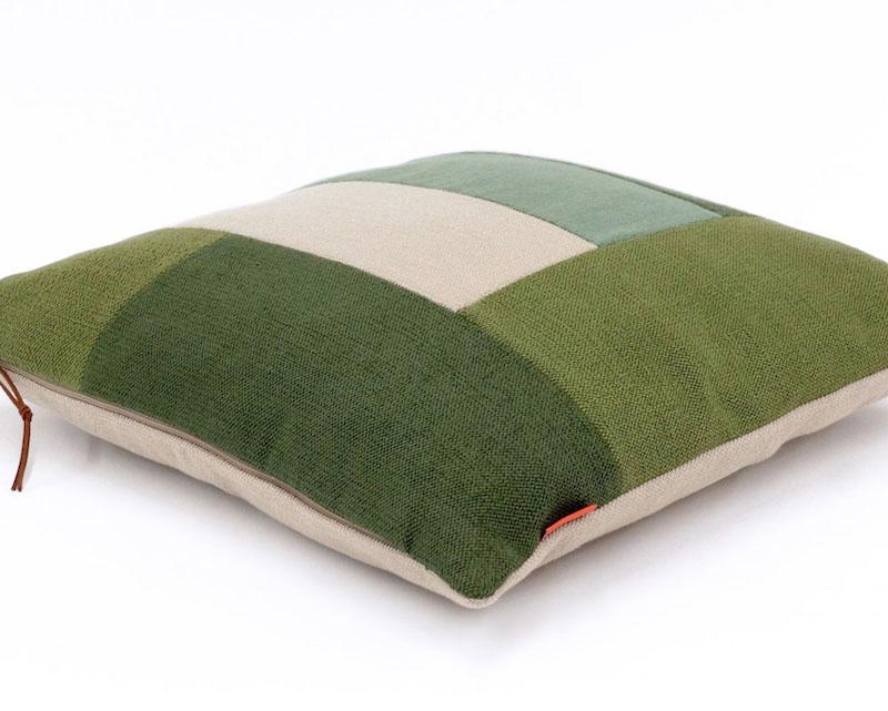 Decorative Color Block Pillow handmade by EllaOsix