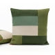 Decorative Color Block Pillow handmade by EllaOsix