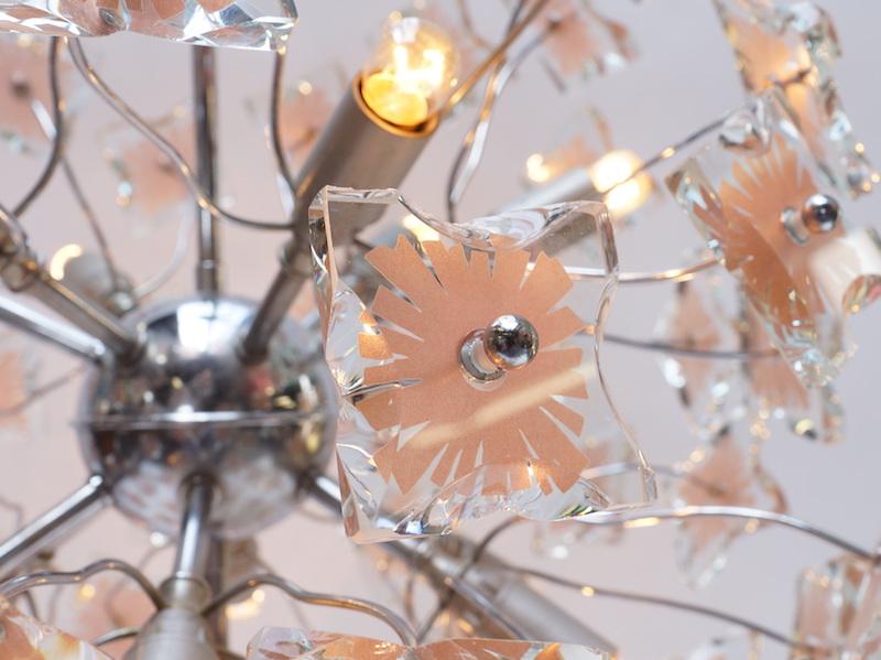 1970s Italian Glass Sputnik