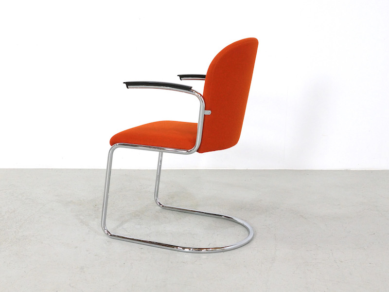 Gispen Cantilever Chairs mod 413 R for Dutch Originals