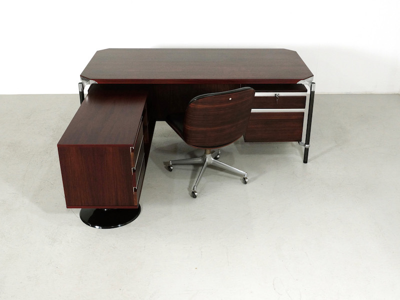 Executive Corner Desk by Luisa and Ico Parisi for MIM Roma