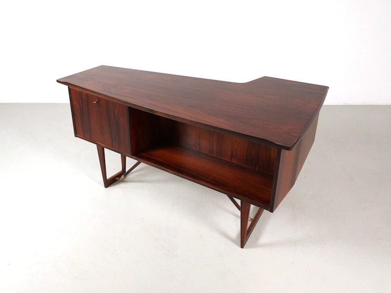 Danish Rosewood Desk by Peter Løvig Nielsen, 1967