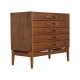 Vintage Italian Chest of Drawers in Teak, 1960s