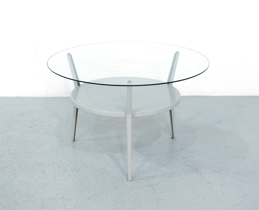 1950s Friso Kramer Rotonda Coffee table for Ahrend de Cirkel