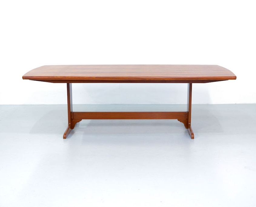 Large Vintage Teak Dining Table