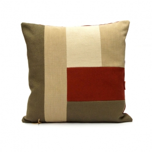 Modern Patchwork Cushion by EllaOsix