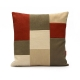 Modern Patchwork Pillow by EllaOsix