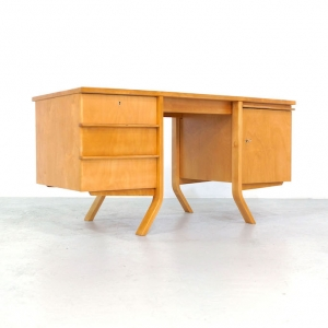 1950s EB04 Desk by Cees Braakman for Pastoe