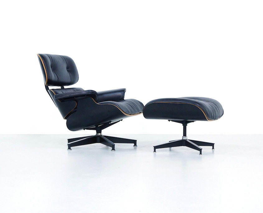 Terrific Eames Lounge Chair And Ottoman Kameleon Design Theyellowbook Wood Chair Design Ideas Theyellowbookinfo