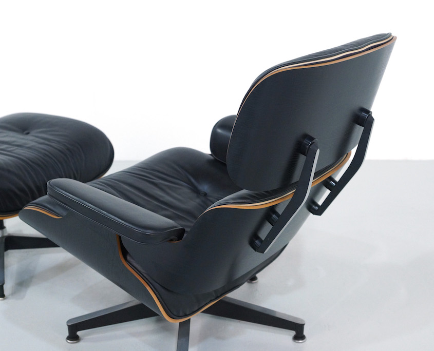 1980s Eames Lounge Chair and Ottoman for Herman Miller