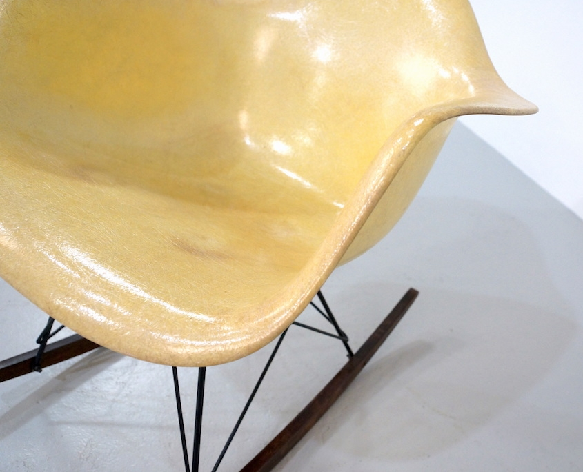Eames Fiberglass Rope Edge Chair for Herman Miller