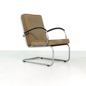 1950s Gispen 409 Easy Chair by W.H. Gispen