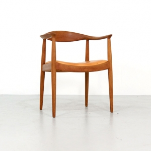 """The Chair"" by Hans Wegner for Johannes Hansen"