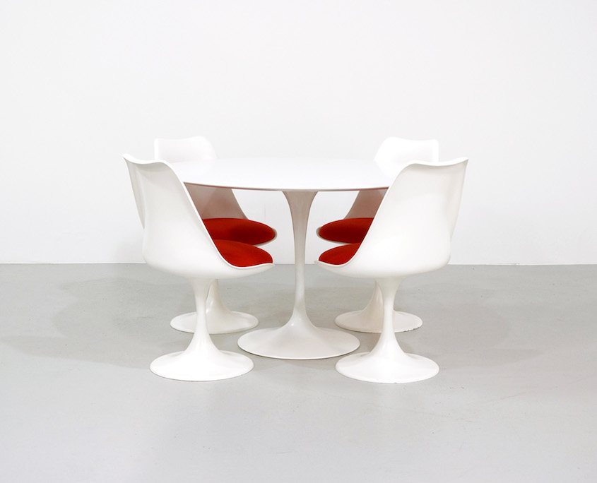 Saarinen Tulip Chairs for Pastoe, set of 4