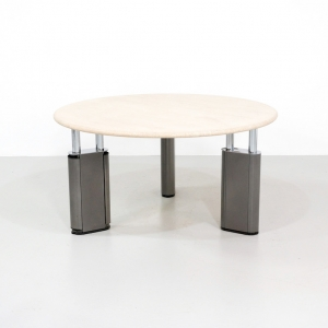 Round Tecno KUM Table by Gae Aulenti