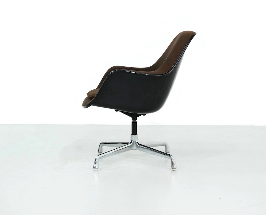Vintage Eames Loose Cushion Chair for Herman Miller