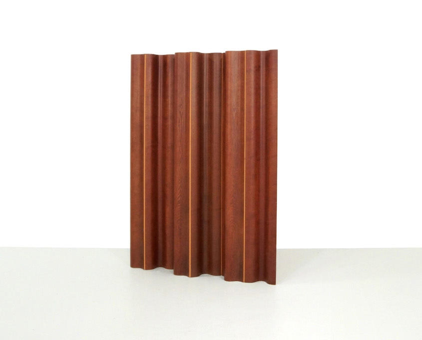 Vintage Plywood Eames FSW-6 Folding Screen by Herman Miller