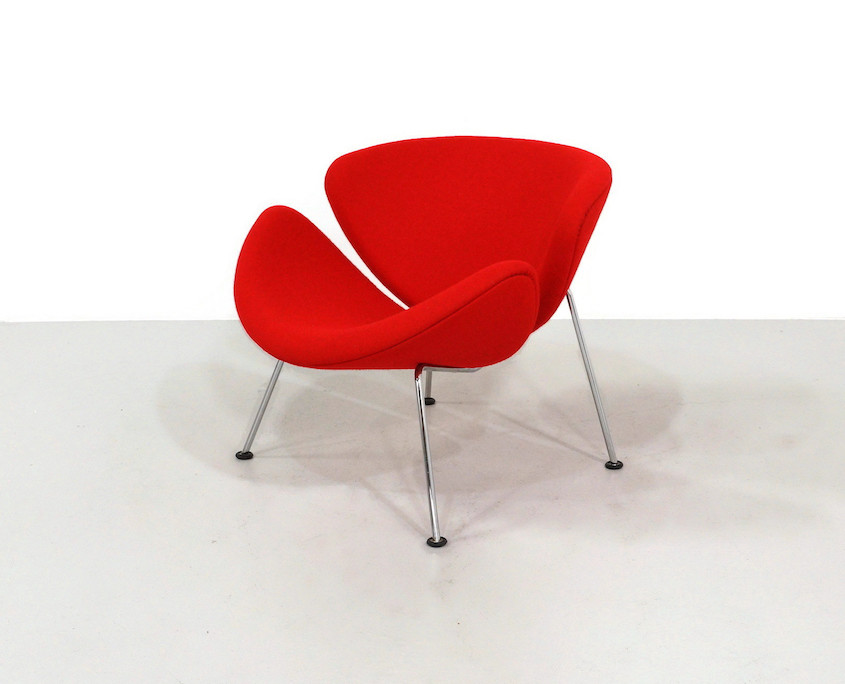 Kameleon Design ~ Red Vintage Artifort Orange Slice by Pierre Paulin