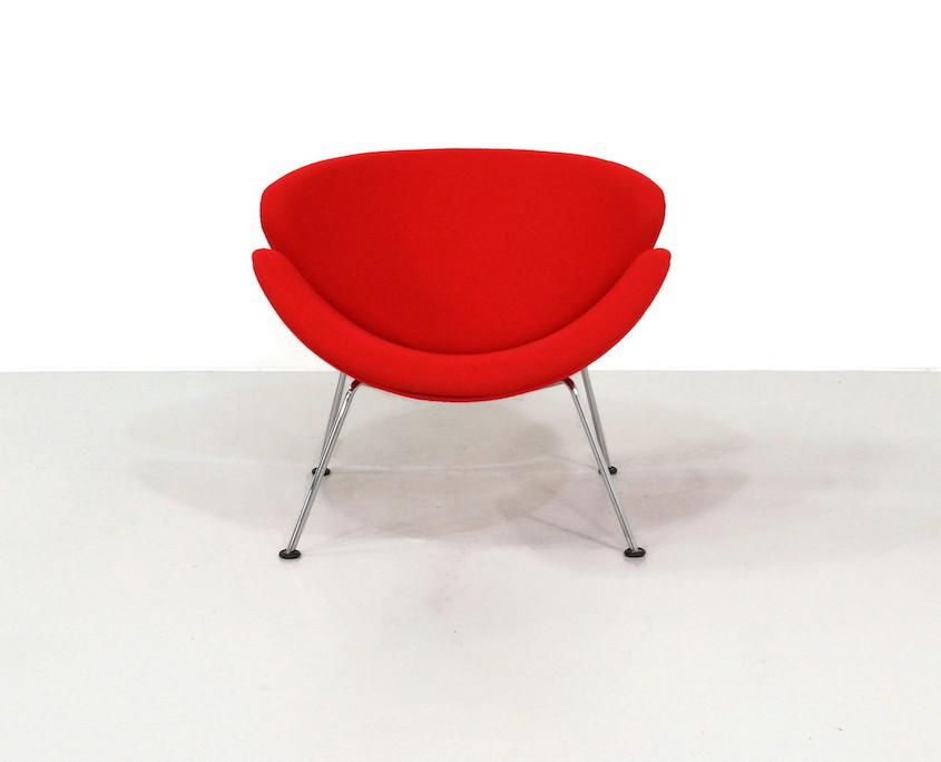 Kameleon Design ~ Red Vintage Artifort Orange Slice by Pierre Paulin