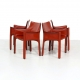 Kameleon Design ~ Vintage Cassina 413 CAB Chairs by Mario Bellini