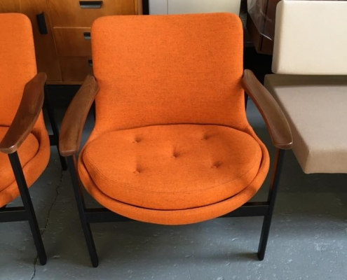 Vintage stoel - kameleondesign