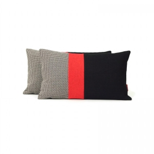 Modern color block pillows by EllaOsix