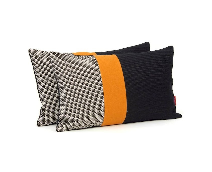 Modern Color Block Pillows by EllaOsix