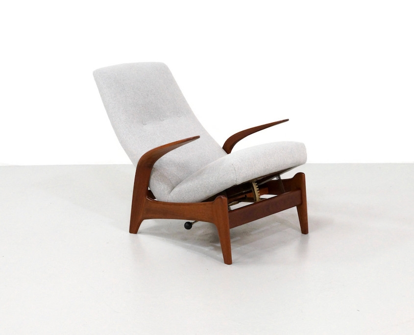 Pair Gimson & Slater LKameleon Design ~ Pair Gimson & Slater Lounge Chairs by Rolf Rastad and Adolf Rellingounge Chairs by Rolf Rastad and Adolf Relling