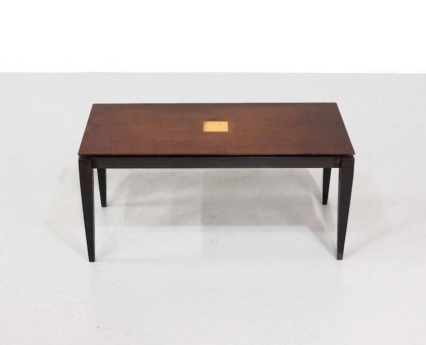 Kameleon Design | Idir Mecibah brutalist coffee table by Smederij Moerman
