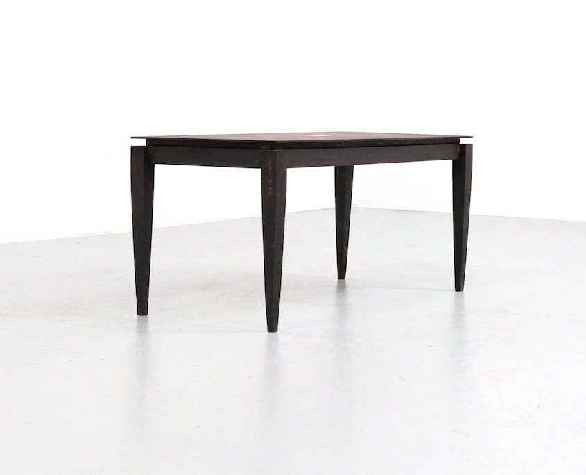 Kameleon Design | Idir Mecibah brutalist coffee table by Smederij Moerman