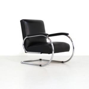 Kameleon Design | Vintage Tubax Vilvoure Lounge Chair Mod. 1948R