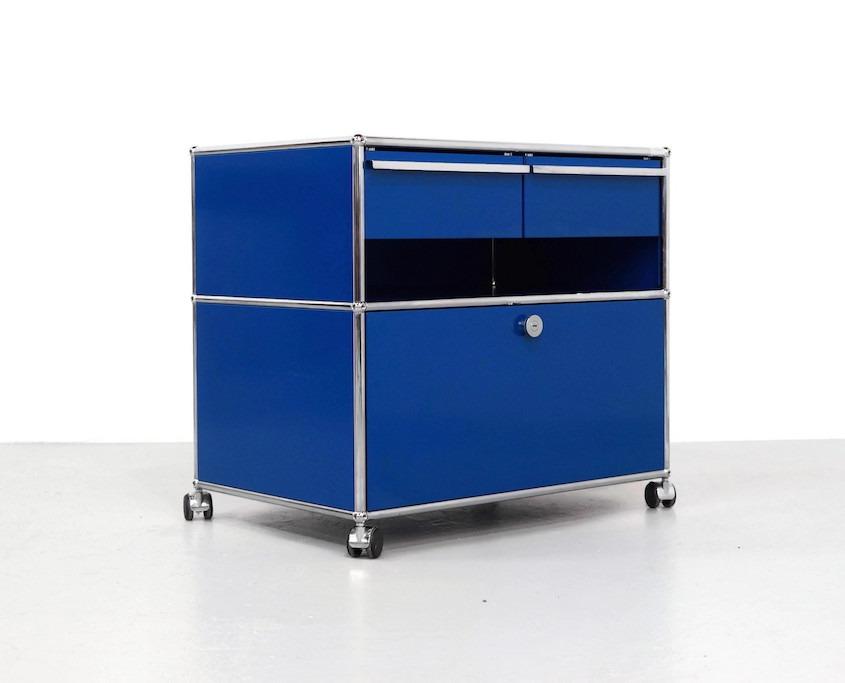 Vintage Blue cabinet by UMS Haller