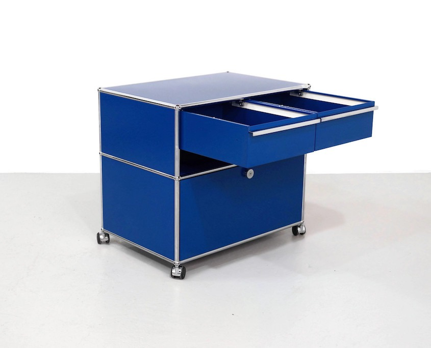 Blue cabinet by UMS Haller